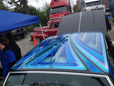 lowrider pattern paint jobs cutlass lowrider roof paint job lowrider paint jobs