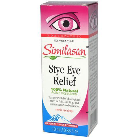 eye drops for dogs similasan stye eye relief sterile eye drops 0 33 fl oz 10 ml iherb