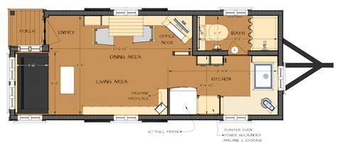 tiny house trailer plans tiny house floor plans