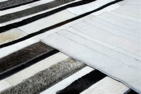 gray and white striped area rug striped black gray and white leather area rug 269 shine rugs
