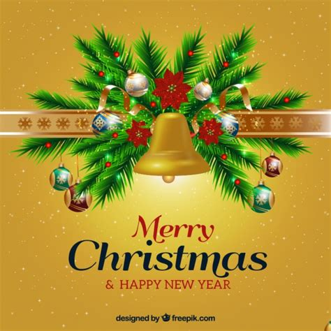 new year ornament vector free and new year background with ornaments vector