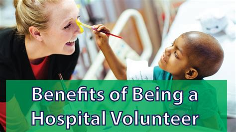 8 Benefits Of Volunteering by What Are The Benefits Of Volunteering In A Hospital