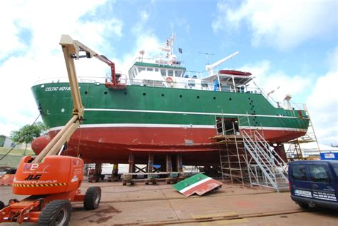boat building jobs ireland celtic voyager gets new engine mooney boats ireland