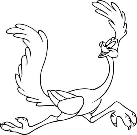 roadrunner coloring pages home sketch coloring page