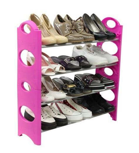 Pink Shoe Rack by Pink Shoe Rack For Organize