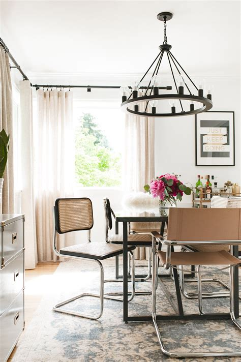 west elm eclectic glam style  seattle eclectic
