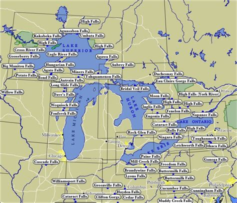 lakes map hairstyle and fashion map of great lakes states