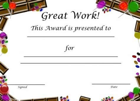 printable certificates awards for kids mr printables