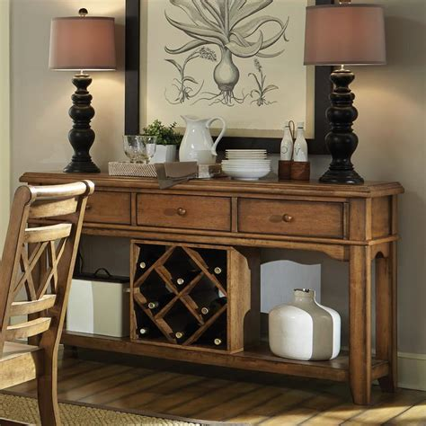 dining room servers canyon pecan dining room server free shipping