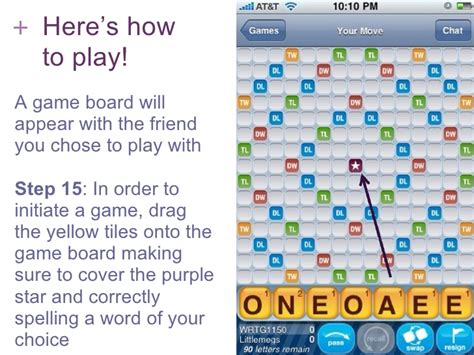 how to play how to play scrabble for free with friends on an iphone