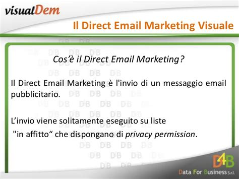 Email Marketing 2 by Visual Dem Il Direct Email Marketing Visuale