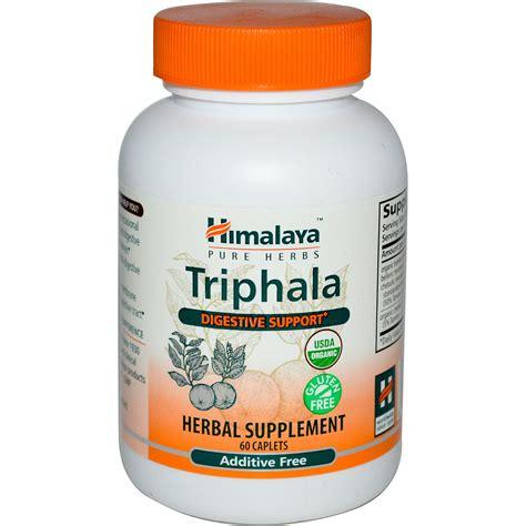 Triphala Detox Dosage by Himalaya Herbal Healthcare Triphala 60 Caplets Iherb