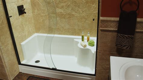 how to make a bathtub into a shower tub to shower conversion the refreshing remodelbathroom