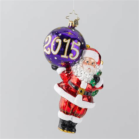 christopher radko 2015 my favorite year christmas ornament