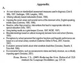 Appendix Essay by Purpose Of An Appendix In An Essay