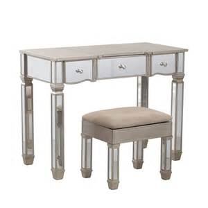 Makeup Vanity Table Ontario Powell 14v8121 Rodeo Mirrored Vanity Atg Stores
