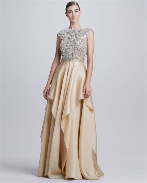 Evening Wedding Gown by Naeem Khan Evening Gown Dresscab