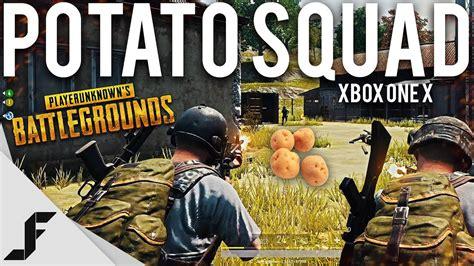 pubg xbox one x gameplay potato squad pubg xbox one x 183 gamesonlock