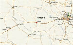 map abilene abilene location guide