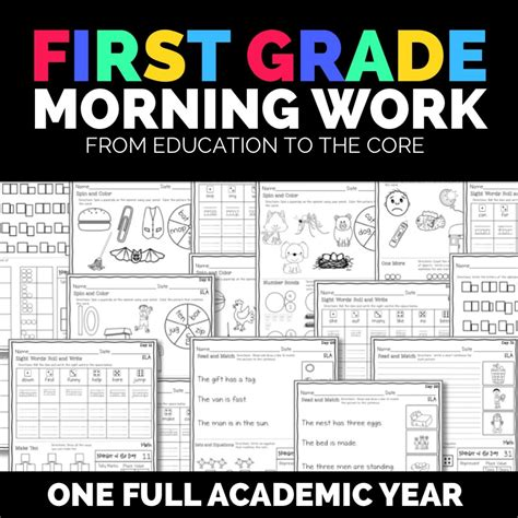 daily morning work a year s worth of reasoning and multidisciplinary problems books morning work bundle for grade education to the
