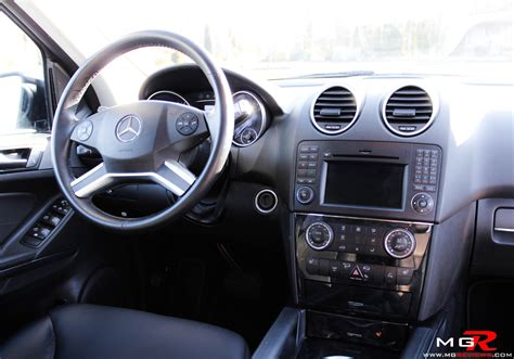 Mercedes Benz ML350 Bluetec Interior 01 ? M.G.Reviews