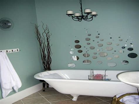 cheap decorating ideas for bathrooms