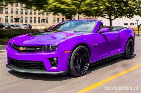 purple ferrari convertible purple chevrolet camaro convertible cool vehicles