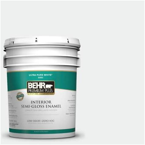 Behr Premium Plus Interior Semi Gloss Enamel by Behr Premium Plus 5 Gal 1857 Semi Gloss Enamel