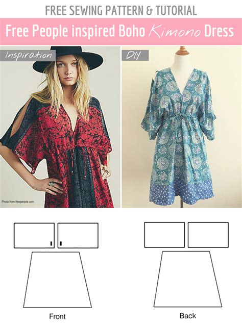 patterns sewing easy free sewing pattern tutorial free people inspired