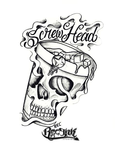 screw tattoo designs dj htown 713 jose aka rec by txrec on deviantart