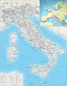 maps of italy detailed map of italy in tourist