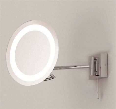 Astro Gena 0488 Illuminated Magnified Bathroom Mirror Bathroom Lighting Centre