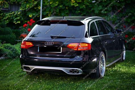 Audi S4 B8 Abt by Prelungire Bara Spate Audi A4 B8 8k Abt S4 Rs4 Sline Ver 1