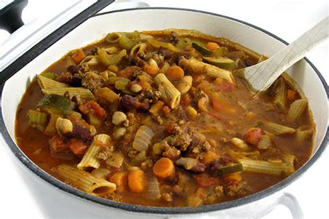 make olive garden s delicious pasta fagioli at home with
