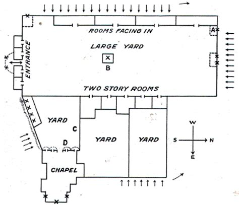 floor plan of the alamo the alamo