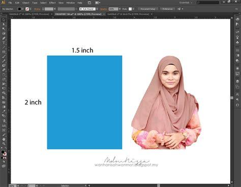 Gambar Tutorial mdmnissa tutorial membuat gambar passport