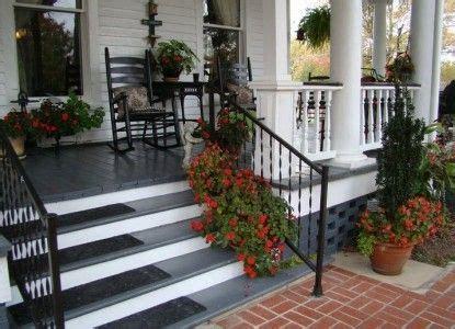 image result  white house black porch railing porch
