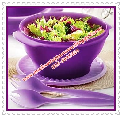 Salad Bowl Tupperware madam tupperware salad bowl tupperware yang sangat cantik