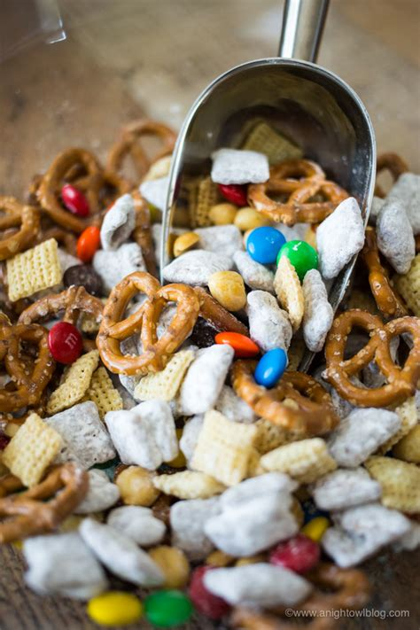 puppy chow snack mix puppy pals puppy chow snack mix a owl
