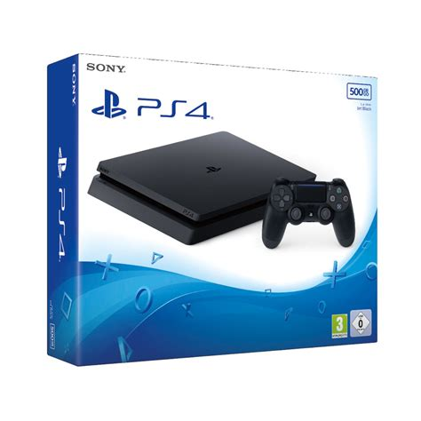 playstation 4 console playstation 4 500gb slim console bart smit