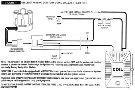 ballast resistor for mallory unilite ballast resistor mallory unilite wiring diagram wiper motor wiring diagram msd wiring diagram