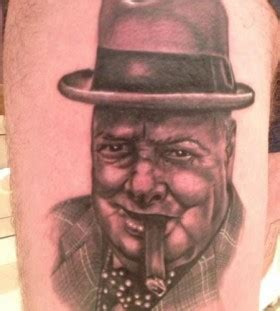 winston churchill tattoo awesome churchill american president