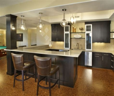 U Shaped Kitchen With Island Floor Plans Faucet Dark