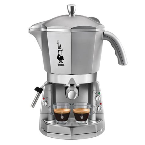 Bialetti Nera 4 Cup Silver best steam espresso machines colour my living