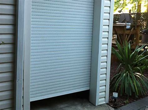 overhead shed doors images