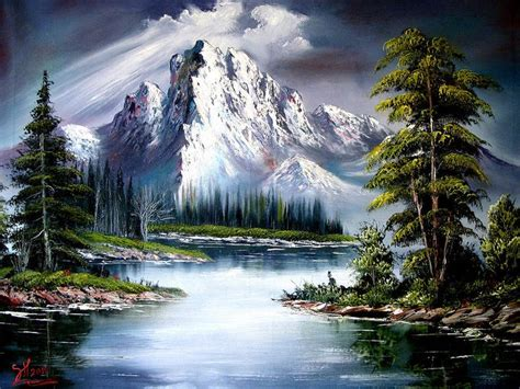bob ross painting enchanted forest best 20 bob ross ideas on bob ross paintings