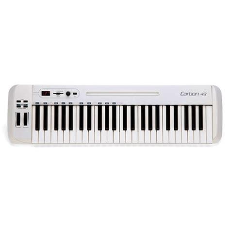 Keyboard Samson Carbon 49 samson carbon 49 usb midi keyboard controller sakc49 b h photo
