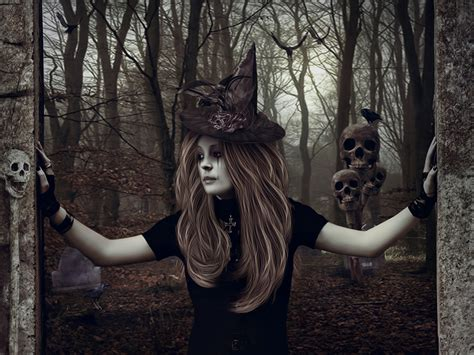 a witch wallpaper evil witch wallpaper