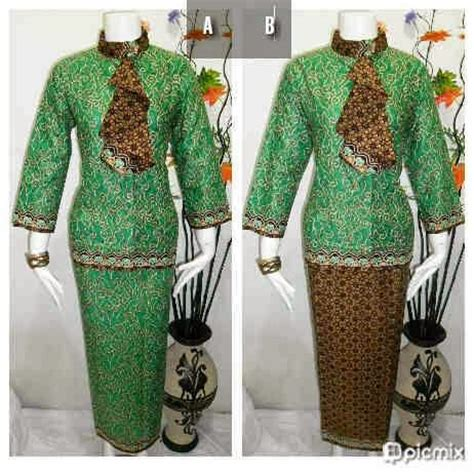 Setelan Kurtah J A U Z A baju batik setelan rok blouse terbaru baju batik modern