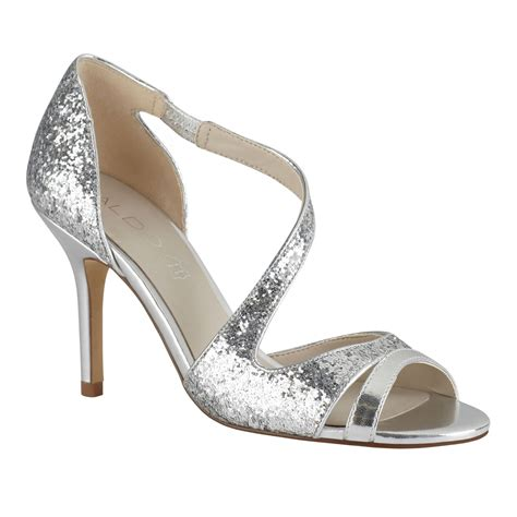 strappy silver sandals aldo legaynna strappy stilleto sandals in silver lyst